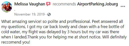 Airport Parking Review 7