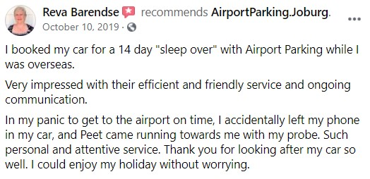 Airport Parking Review 9